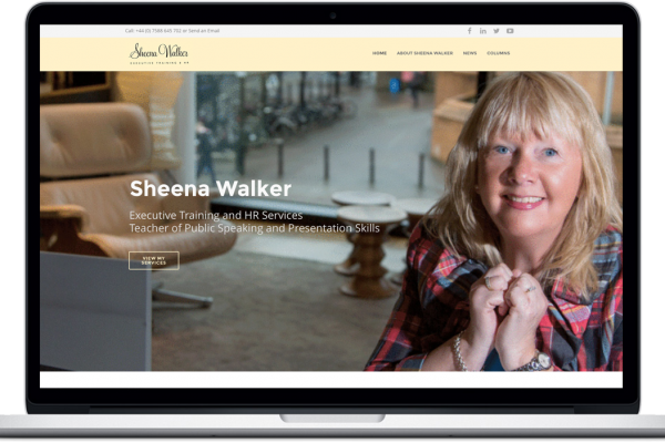 New Sheena Walker Website